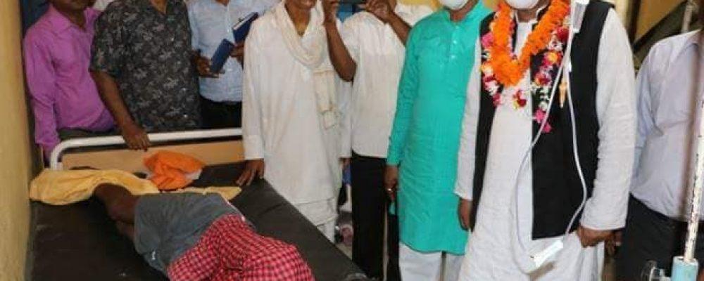 मुख्यमन्त्री तथा कृषि मन्त्रीद्वारा भारइलफ्लु प्रभावित कंचनपुरको स्थलगत निरिक्षण
